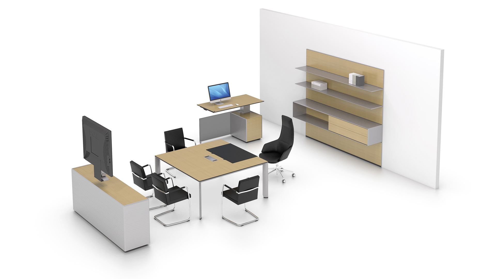 Bene office furniture CAD downloads - Bene AG