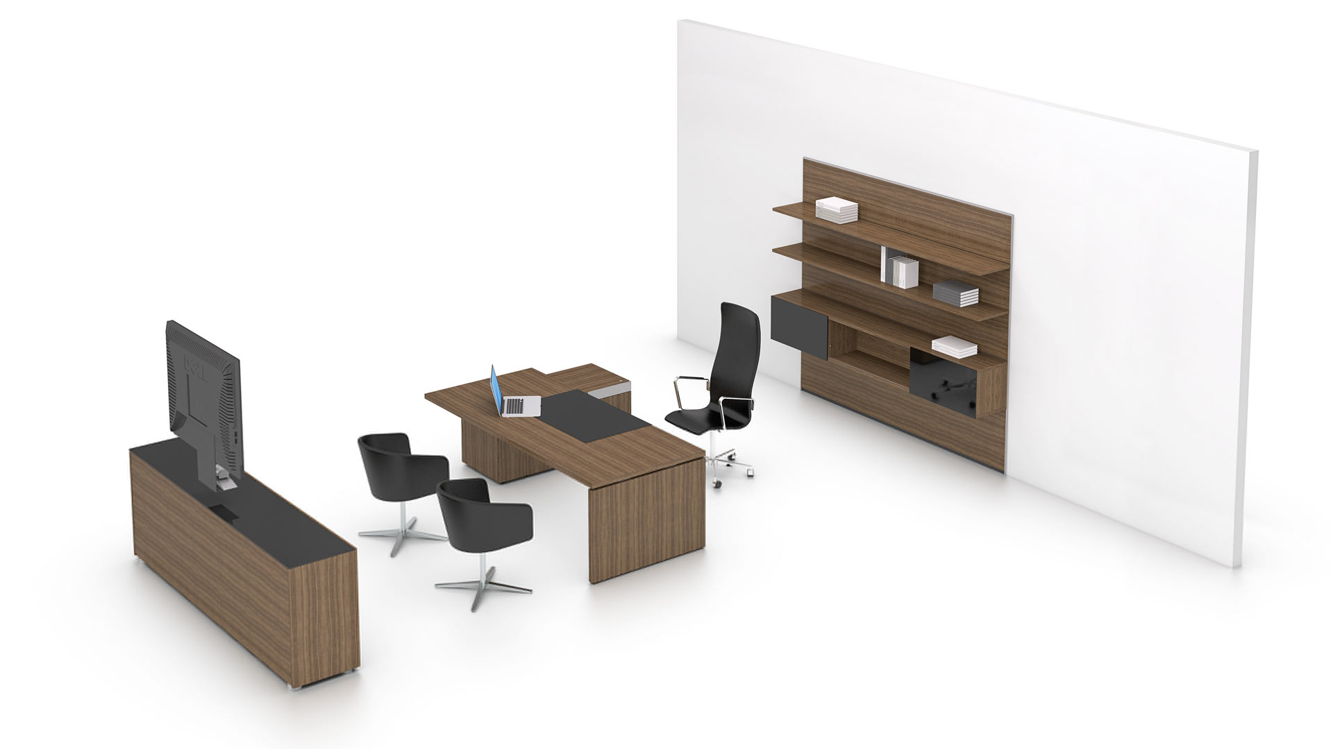 P2 Executive - CAD Download - Bene Office Furniture