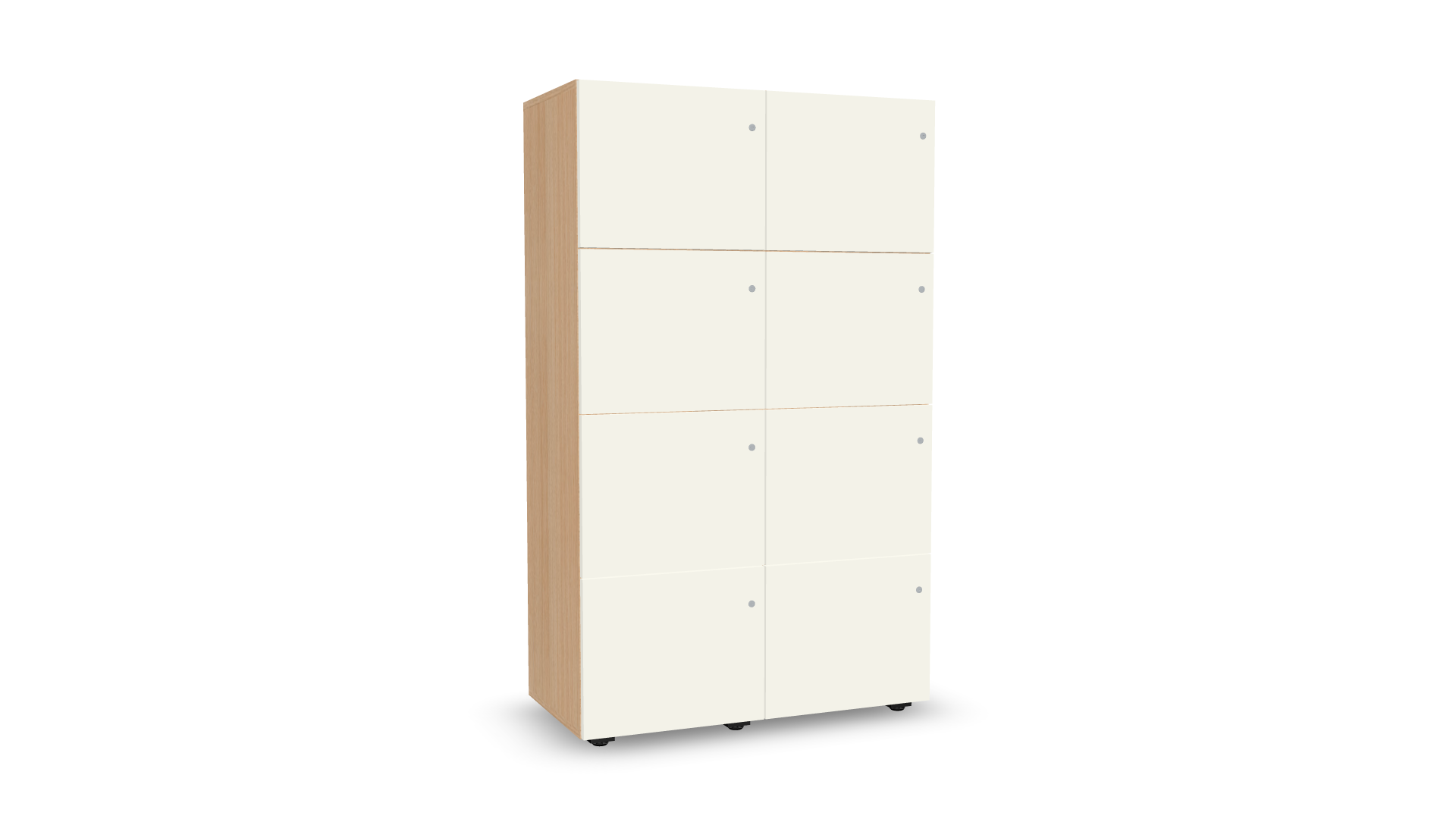 Personal Lockers double-row configurator preview