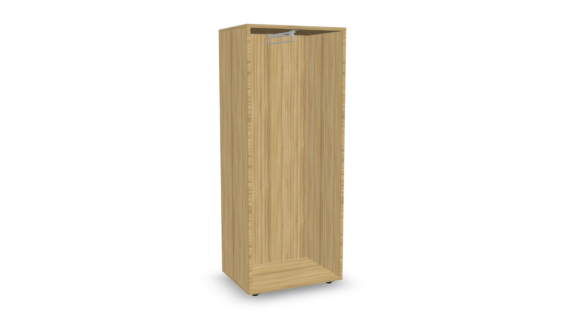 Personal Lockers open coat-rack configurator preview