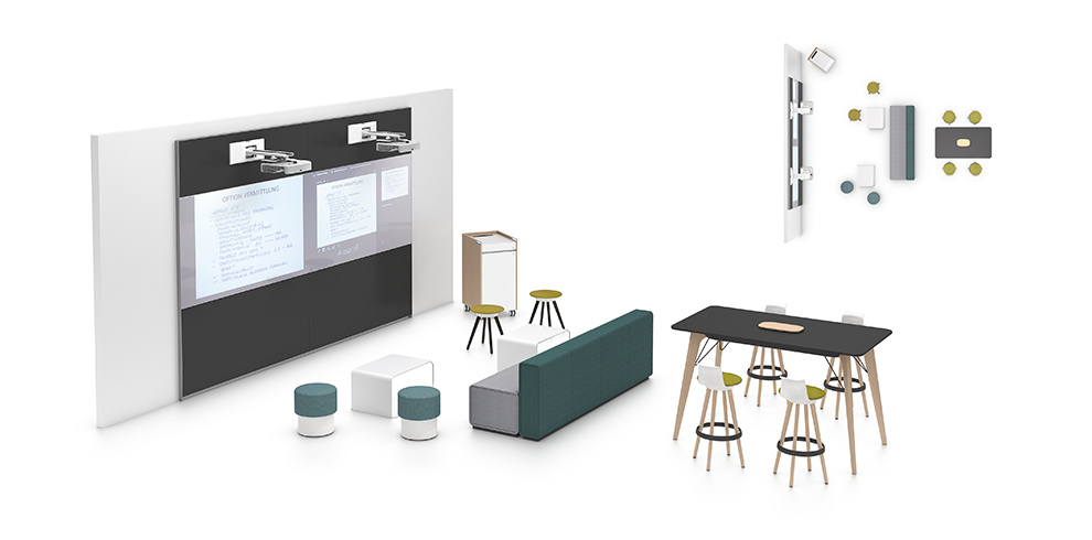 IDEA WALL - Bene Office Furniture