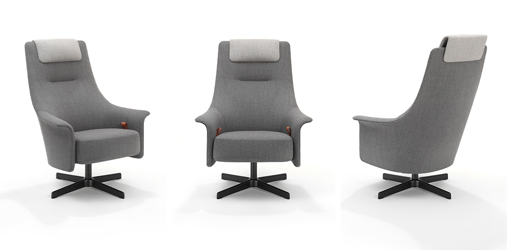 PORTS Active Chair with high back and headrest