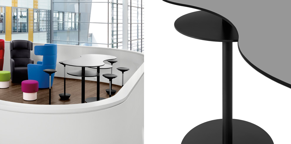 TMeeting Stand Up Table Bene Office Furniture - Stand up meeting table