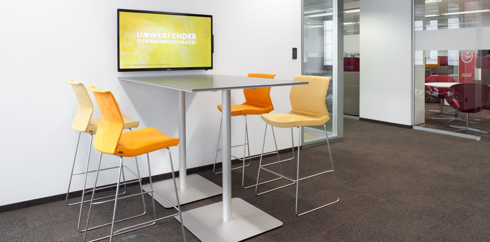 TMeeting Image Database Bene Office Furniture - Stand up meeting table