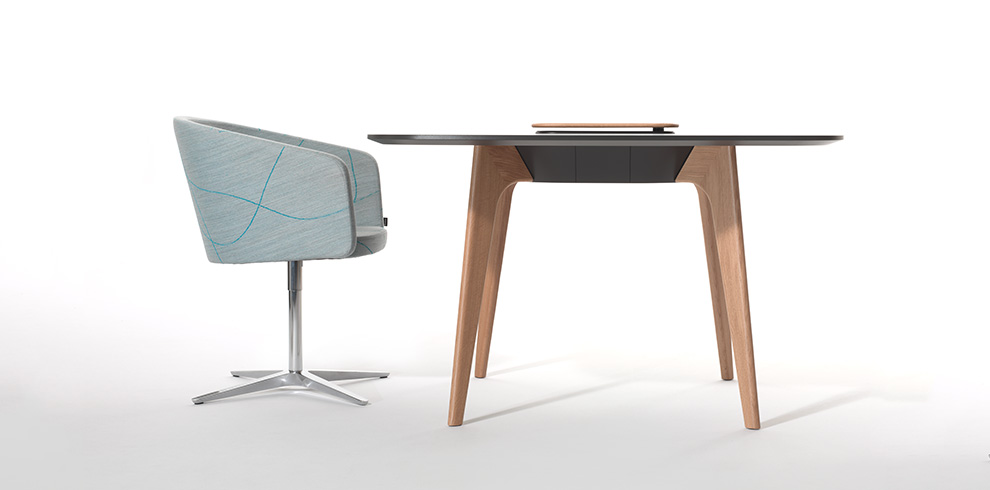 Club Chair & TIMBA Table