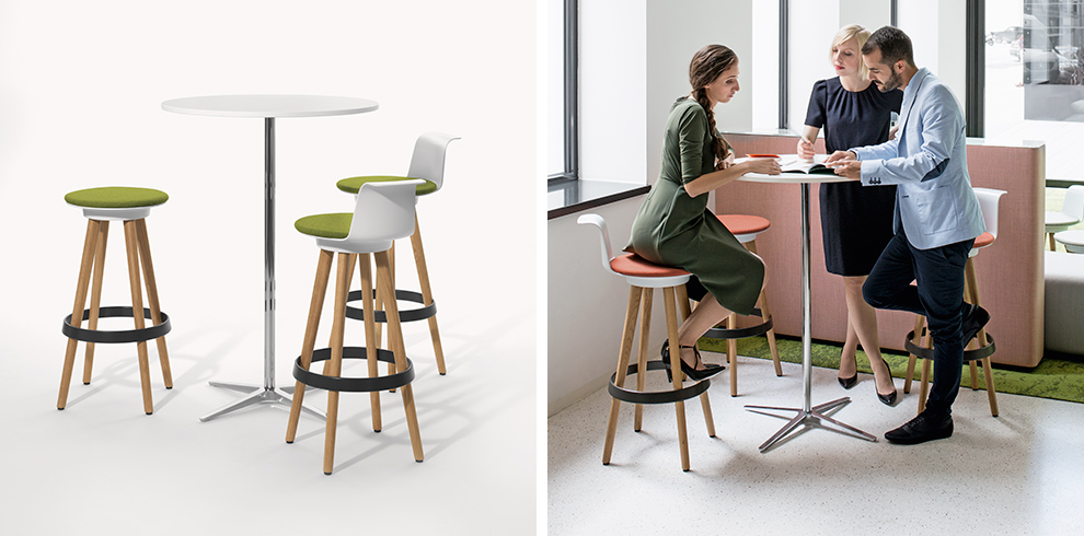 TIMBA Stool & Club Table