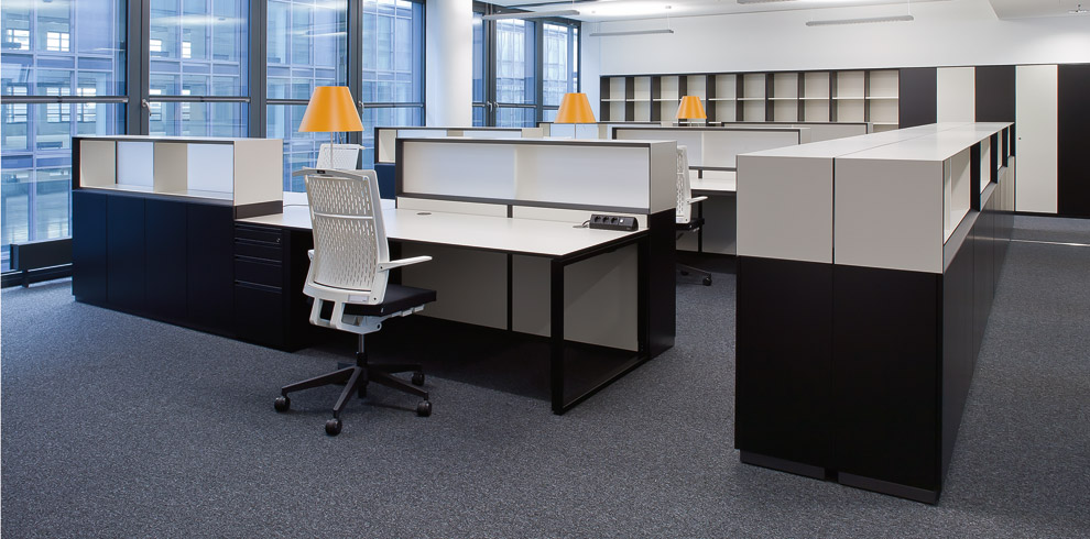 k2 storage office desks with e