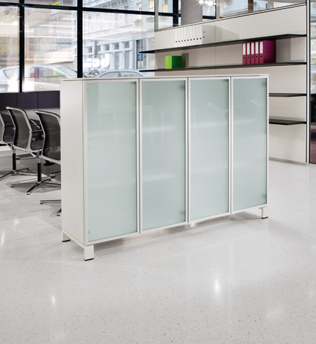 K2 Glass door cabinets