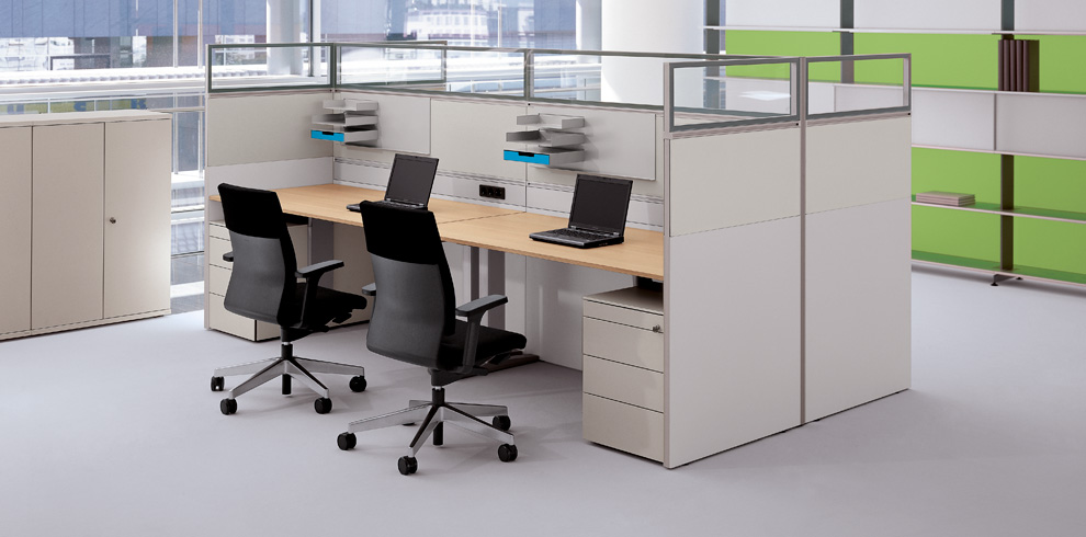 RV Dividing Wall - Image database - Bene Office Furniture