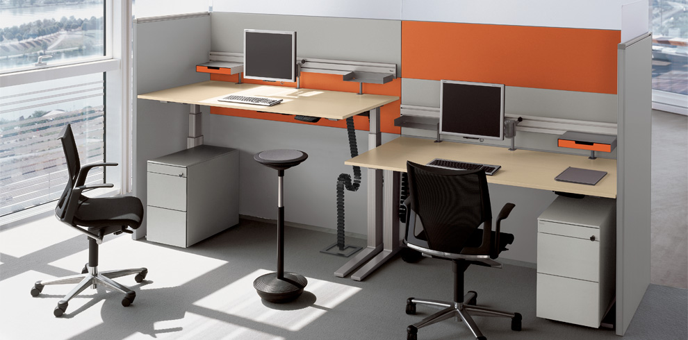 T Lift Desk Bene Office Furniture