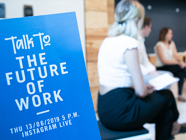 Teaserimage - Talk to the future of work