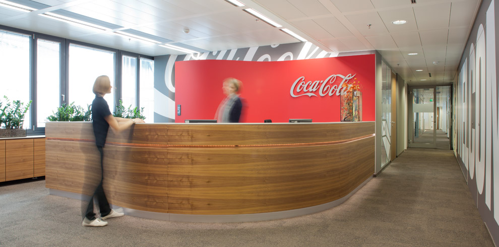 Coca Cola Gmbh Bene Office Furniture