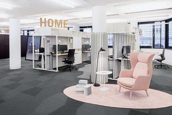 Bene\'s forward-looking showroom concept - Bene Büromöbel GmbH